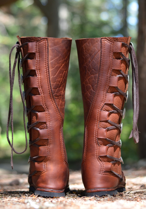 kurt russell style moccasin boots  deposit